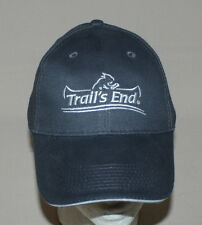 Trails End Baseball Hat Gray Embroidered Boy Scout Popcorn Adjustable Buckle New