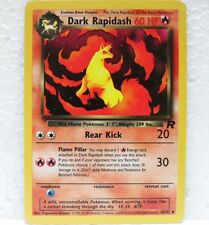 POKEMON TEAM ROCKET unlimited - DARK RAPIDASH - 44/82 inglese-MINT/NEAR MINT