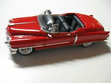 WELLY 1:24 SCALE 1953 CADILLAC ELDORADO DIECAST CAR CONV. MODEL W/O BOX
