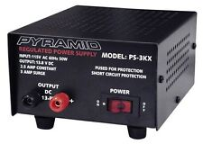 PYRAMID PS3KX 3AMP 12V HEAVY DUTY POWER SUPPLY