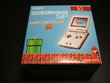 NEW Game Boy Advance SP Famicom Color Console Japan *FREE SHIPPING* PRICE DOWN