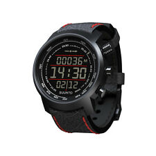 Suunto Elementum Terra N/ Black/Red Leather Premium Sports Watch - SS019171000