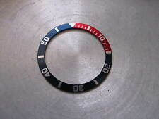 Pepsi (red/blue) BEZEL Insert  for SEIKO DIVER 7S26-0050 Automatic New