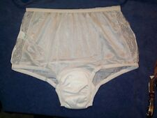 1 Pair Womens Size 11 Incontinence Lace Frt Nylon XXXL Panty Cute Incontinence