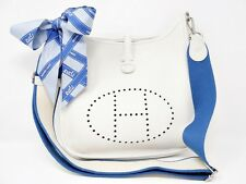 HERMES EVELYNE 3PM III 29 EVELYN JO STAMP (2011) WHITE