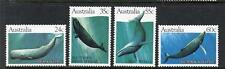 AUSTRALIA MNH 1982 SG838-841 WHALES SET OF 4