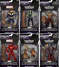 "MARVEL LEGENDS GUARDIANS OF THE GALAXY SET 6"" ACTION FIGURES"