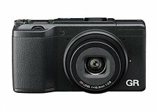 Ricoh GR II Compact System Camera - Black (16MP, 18.3 mm Wide Lens, F2.8, WiFi)