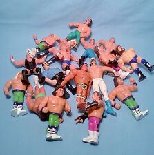 WWF Vintage Hasbro Wrestlers Bag Lo# 2- of 17 Ultimate Warrior WWE Mix