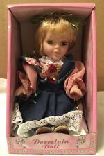 NEW Porcelain Doll, Genuine Hand Painted