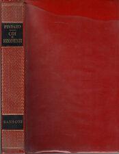 Odi e frammenti- PINDARO, 1956 Sansoni editore -ST352