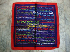 FENG SHUI - 5 POWERFUL MANTRAS SCARF (WISDOM, PROTECTION, WEALTH, GOOD HEALTH)