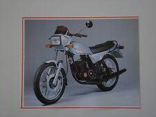 - RITAGLIO DI GIORNALE 1982 MOTO FANTIC STRADA 125