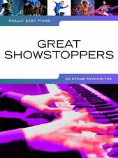 Really Easy Piano Great Showstoppers Learn to Play Stage Music Book