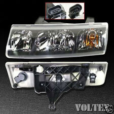 2002-2004 Saturn Vue Headlight Lamp Clear lens Halogen Driver Left Side