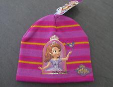 Filles disney sofia le premier princess beanie chapeau vêtements d'hiver wear 2-6 ans