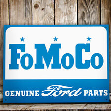 Ford Motor Co Genuine Parts Metal Wall Sign Gift/Home/Garage/Shed Christmas/Xmas