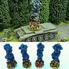 "Wargames Terrain 3"" Painted RESIN Explosion Markers Bolt Action 40k Dust Tactics"