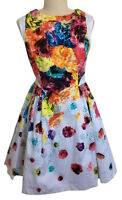 NEW! Prabal Gurung Target Dress Full Skirt Floral Crush Multi Sz 2 6 10 12 14