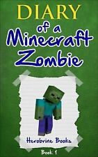 SET OF 6 ~ DIARY OF A MINECRAFT ZOMBIE BOOKS - new paperback