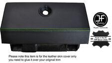 Costura Verde Caja de guantes funda de cuero adapta RENAULT ALPINE GTA V6