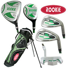 NEW JUNIOR GOLF SET 6 PCE for KIDS 7 to 10yrs WITH HYBRID - CHILDRENS GOLF CLUBS