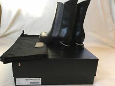 Authentic Brand New Alexander Wang Anouck Boots Silver Black 37.5 (US7)