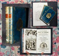 1787-9 Prachtbände für bayrisch-pfälzischen Herzog Theorie der Dichtkunst Sulzer