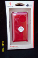 Griffin Outfit Hard Case for the Apple iPod touch 4th Generation Red GB02007