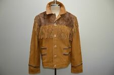 Ralph Lauren Denim and Supply Leather & Fur Western Style Jacket XXL