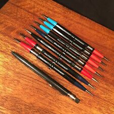 Vtg mechanical pencil lot drafting Skilcraft U.S. Government PRIORITY MAIL