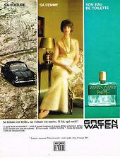 PUBLICITE ADVERTISING 035  1964   JACQUES FATH   eau de toilette homme GREEN