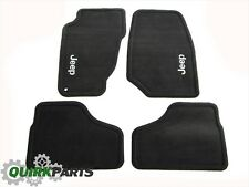 02-04 Jeep Liberty Dark Slate Carpet Floor Mats FRONT & REAR OEM MOPAR 82208879