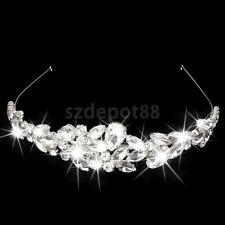 Wedding Bridal Party Hair Jewelry Crystal Crown Rhinestone Tiara Headband