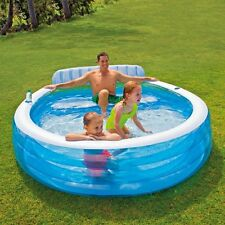 Intex Family Lounge Pool Schwimmbad Party Familienpool Swin Center 224x216x76 cm