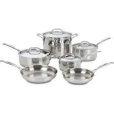 Cuisinart Chef's Classic Stainless Cookware 10 pc. set (77-10)
