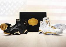 Nike Air Jordan Golden Moment Pack SZ 11 GMP Retro 6 VI 7 VII Black 535357-935
