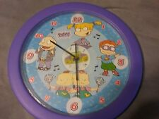 1999 Nickelodeon Rugrats Talking Wall Clock