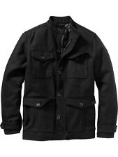 OLD NAVY Men Wool Four Pocket Coat Jacket S,M,L,XL,2XL,3XL,MT,LT,XLT,2XLT,3XLT
