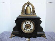 Antique Wm L. GILBERT Bell Mantle Clock.