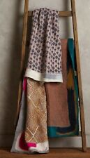NWT Anthropologie HAND-FELTED LHASA THROW Blanket Wool Cotton