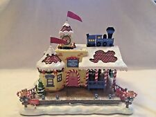 Hawthorne Village Rudolph's Christmas Town ~ Train Station ~ MIB CoA HTF