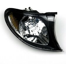 BMW E46 2002-2005 FACELIFT - FRONT INDICATOR LAMP LIGHT O/S RIGHT BLACK SURROUND