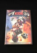 Spy Kids 3: Game Over 2003 (DVD, 2004, 2-D & 3-D Versions) Carla Cugino,