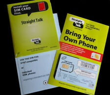 Straight Talk AT&T Compatible Standard SIM Card for iphone 3/3gs galaxy S2
