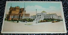 C.P.R. Hotel Vancouver and Court House Vancouver B.C. Postcard Canada