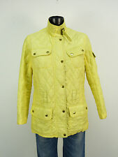 BARBOUR STEPP JACKE GR 38 / GELB & LUXUS PUR  ( L 7293 )