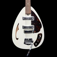 Teisco 1968 Crescendo Made In Japan - White - Vintage Guitar
