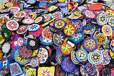 Wholesale Lot 50 Kuchi Afghan Banjara Tribal ATS BellyDance Beaded medallion MED