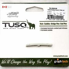 SILLET IVORY graph Tech TUSQ PQ-5000-00 Slotted nut 43mm Stratocaster Telecaster